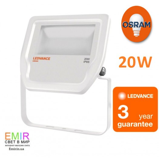 Led прожектор LEDVANCE Floodlight LED 20W/3000K/4000K 4058075001084,4058075810976